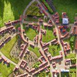 Minibyen i Varde DK 90 grader
