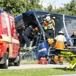 Trafikulykke Engdraget i Varde.