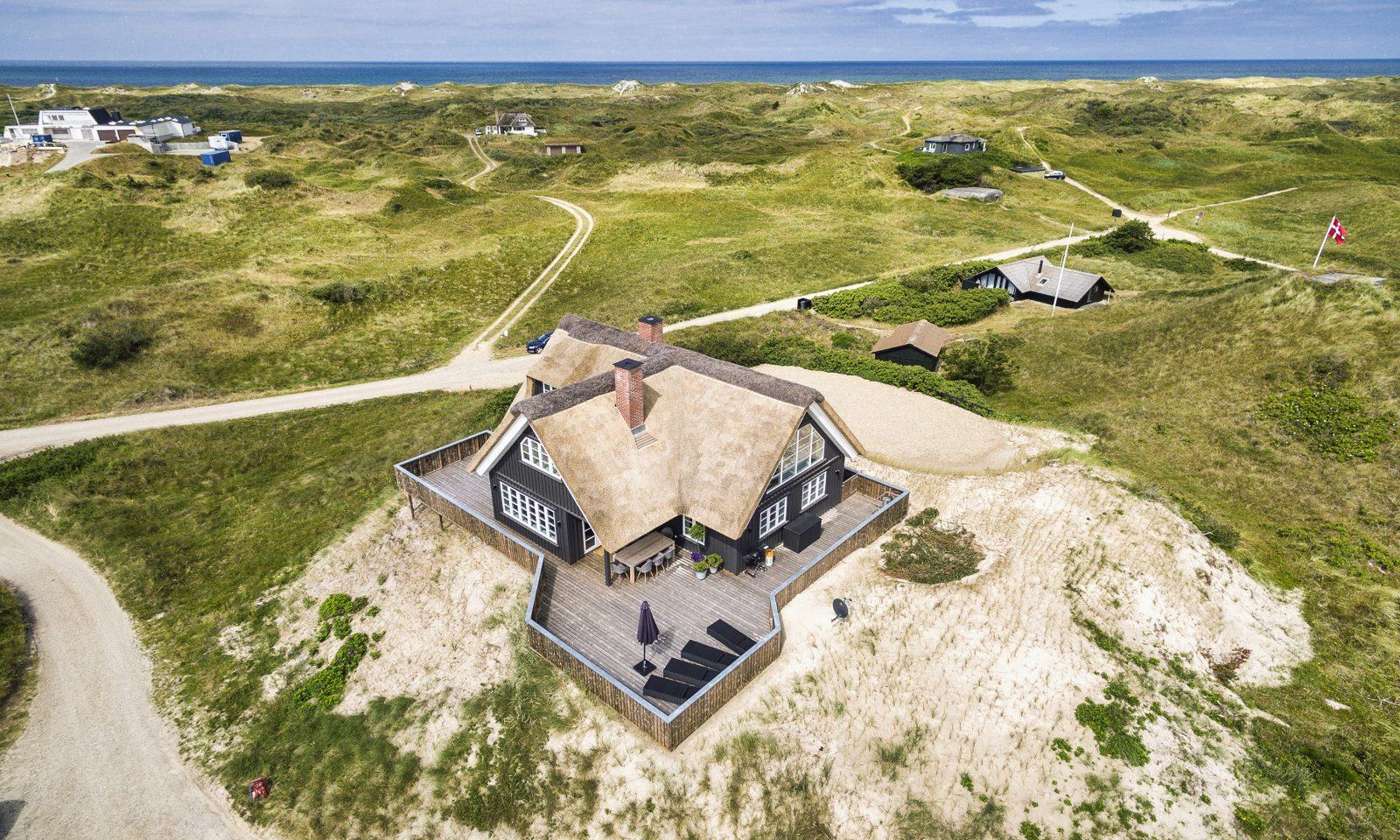 Sommerhus Nordvej 118 Vejers udefotos Dronefotos